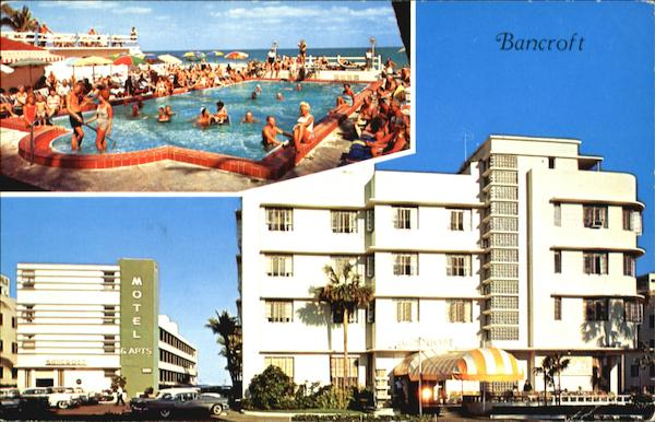 The Bancroft Hotel Motel Apartments Collins Avenue At