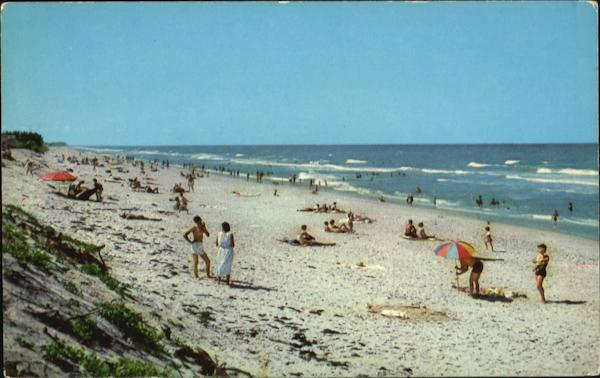 Indialantic Beach On The Blue, Atlantic Melbourne Florida