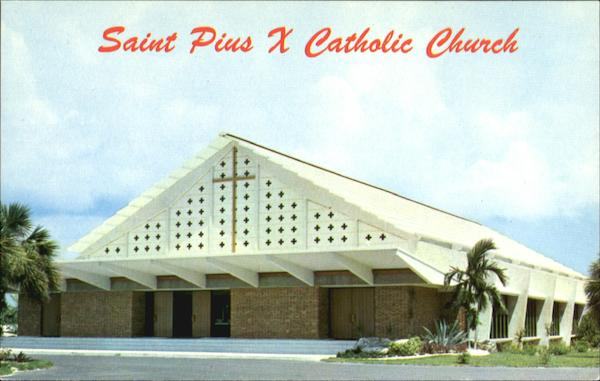 Saint Pius X Catholic Church Fort Lauderdale Florida