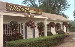 The Village Restaurant, Route 133 and 22 Postcard