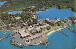 Aerial View Of Woods Hole