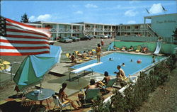 Cape Holiday Motel, Rt. 28 Postcard