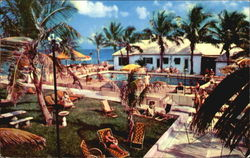 Henri Apartments, 2300 South Ocean Drive Postcard
