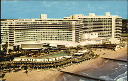 The Fontainebleau, 44th to 47th Streets Postcard