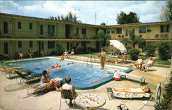 Sun Dial Motel Apartments, 7201 Sunset Way Postcard