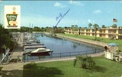Holiday Inn, U. S. Highway 41 8221 N. Tamiami Trail Postcard