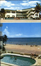 Sands Apartment Motel (Oceanfront), 2404-2428 N. Surf Road (East of AIA) Postcard