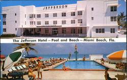 The Jefferson Hotel, On the Ocean Corner 15th Street Postcard