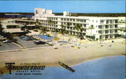 Thunderbird Resort Motel, 185th St Postcard
