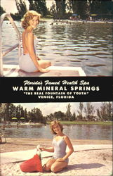 Warn Mineral Springs, 12 miles South
