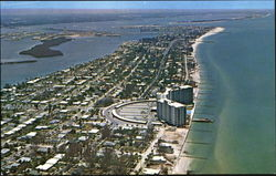 Air View Of Clearwater Beach
