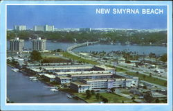 Aerial View Of New Smyrna Beach