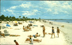 Beautiful Snow White Sands Of Gulf Of Mexico, Siesta Key Beach