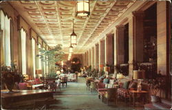 North Loggia At The Breakers Hotel Postcard