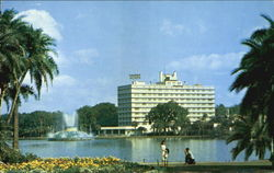 The Cherry Plaza Hotel Postcard