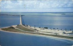Air View Of Bahia Honda Bridge