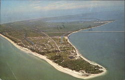 Aerial View Of Tropical Sanibel Island