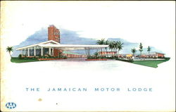 The Jamaican Motor Lodge, 6305 Express Highway Postcard