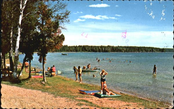 Lake Margrethe, Hwy. 72 Grayling Michigan