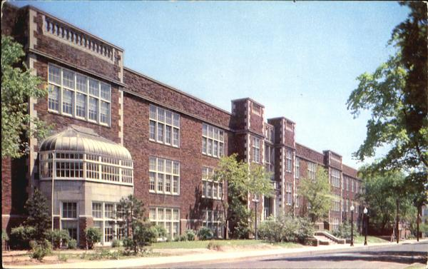 Jefferson High School, North 9th Street View Lafayette Indiana