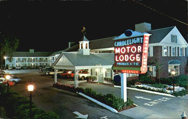 Candlelight Motor Lodge 447 Main Street Cape Cod Hyannis MA