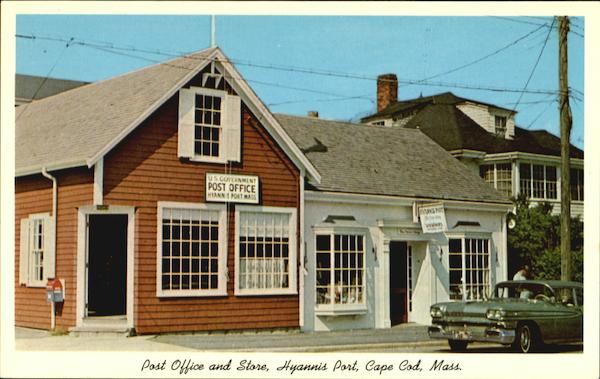 Post Office And Store, Hyannis Post Cape Cod Massachusetts