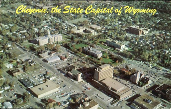 Cheyenne, The State Capital Of Wyoming