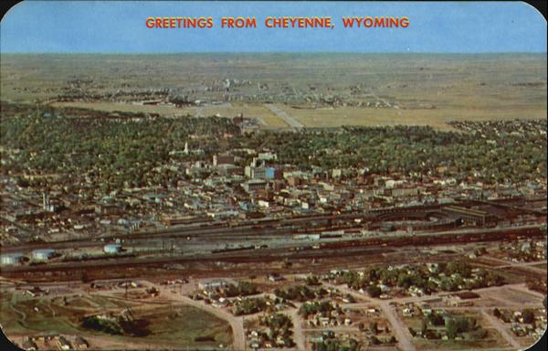 Air View Of Cheyenne Wyoming