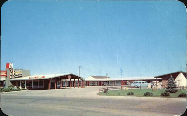 Home Ranch Motel, East Lincolnway (Hiway 30) Cheyenne Wyoming