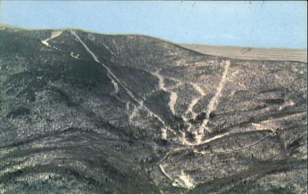 Aerial View Of Mad River Glen Ski Area Waitsfield Vermont