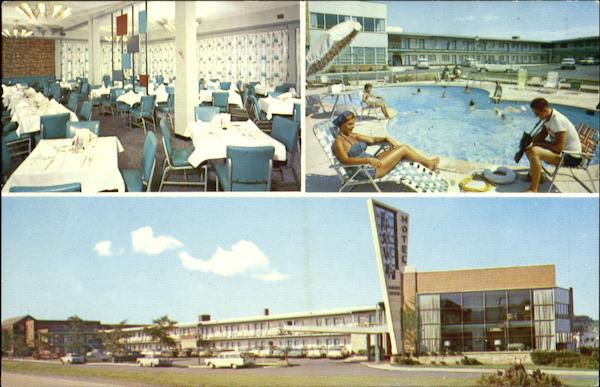 Arva Motor Hotel, 1 Mile West of Wash., D.C. on U.S. #50 Arlington Virginia