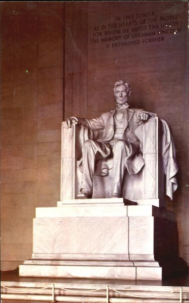 Lincoln Statue Washington District of Columbia