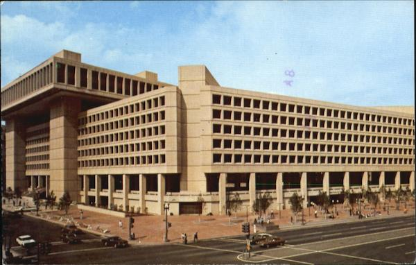 J. Edgar Hoover FBI Building Washington District of Columbia