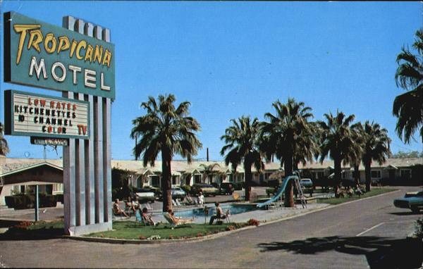 Tropicana Motel, 2115 Fourth Ave. - U.S. Highway 80 Yuma Arizona