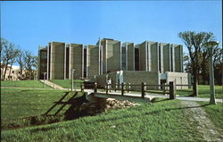Math-Psych Building, Northern Illinois University Postcard