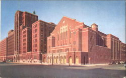 Main Buildings, Moody Bible Institute Postcard