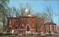 Machinery County Courthouse Postcard