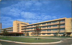 The New Rockford Memorial Hospital Postcard