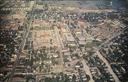 Aerial View Of Purdue University Campus