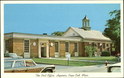The Post Office, Cape Cod Postcard