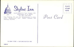 Skyline Inn, South Capitol & Eye Streets, S.W.