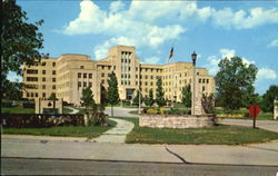 Veterans Administration Hospital, U. S. Highway 67 Postcard