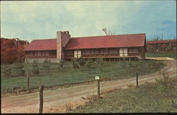Albright Lodge At Camp Otterbein Postcard