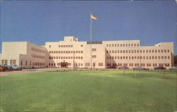 U. S. Veterans Administration Hospital Postcard
