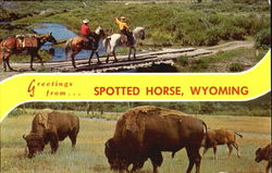 Greetings From... Spotted Horse, Wyoming