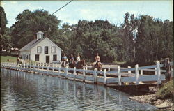 Floating Bridge And Green Trails Fork Shop