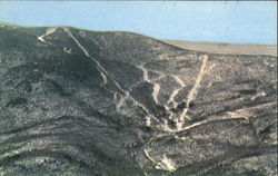 Aerial View Of Mad River Glen Ski Area