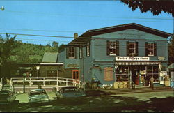 Weston Village Store Postcard