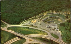 Aerial View Of Junction Of Skyline Drive, Blue Ridge Parkway and Route 250