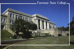 Fairmont State College Postcard